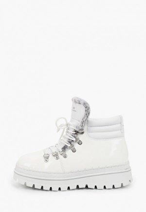 Ботинки Skechers. Цвет: белый