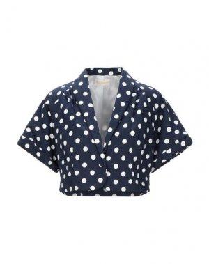 Пиджак CLUB VOLTAIRE. Цвет: темно-синий