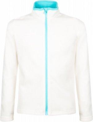 Джемпер флисовый для девочек , размер 152 Outventure. Цвет: бежевый