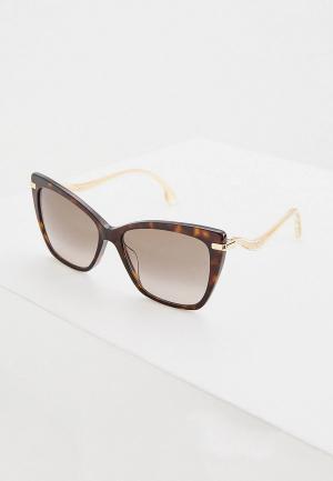 Очки солнцезащитные Jimmy Choo SELBY/G/S 086. Цвет: коричневый