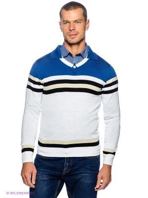 Пуловер Davani. Цвет: белый