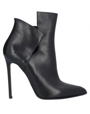 Полусапоги и высокие ботинки GIBELLIERI. Цвет: черный