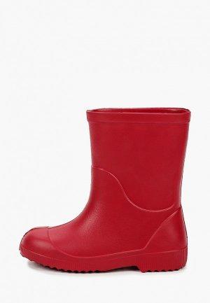 Резиновые сапоги Nordman. Цвет: красный