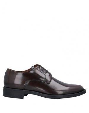 Обувь на шнурках CAMPANILE. Цвет: какао