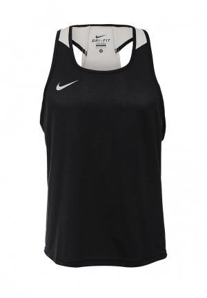Майка спортивная Nike BOXING TANK. Цвет: черный