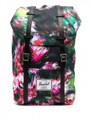 Рюкзак с принтом Herschel Supply Co.. Цвет: розовый