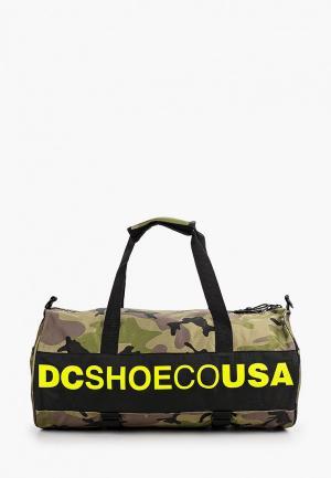 Сумка спортивная DC Shoes. Цвет: хаки