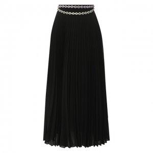 Плиссированная юбка Christopher Kane. Цвет: чёрный