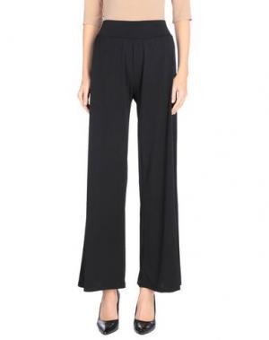 Повседневные брюки CLUB VOLTAIRE. Цвет: черный