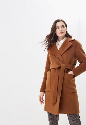 Пальто Vivaldi. Цвет: коричневый