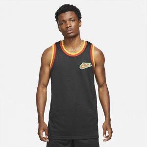 """Мужское джерси из сетчатой ткани Giannis """"Freak"""" - Черный Nike"""