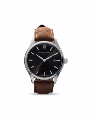 Наручные часы Classics Quartz 40 мм Frédérique Constant. Цвет: серый