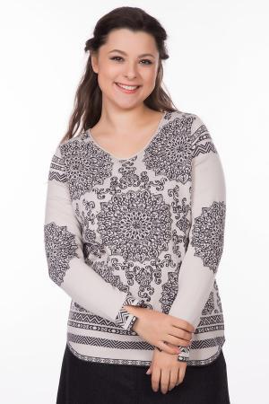 Пуловер Monari. Цвет: чёрный