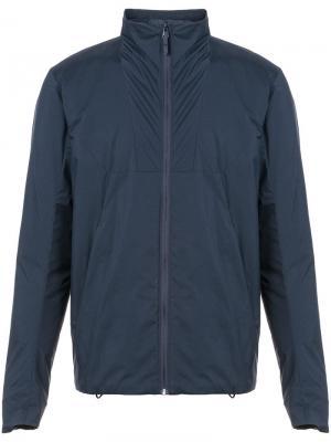 Куртка с длинным рукавом и застежкой на молнии Arc'teryx Veilance. Цвет: синий