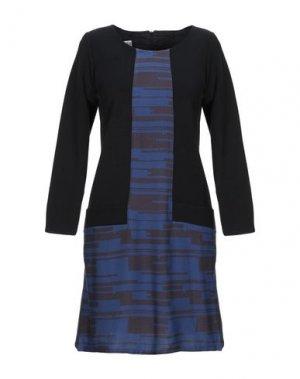 Короткое платье BINI Como. Цвет: черный