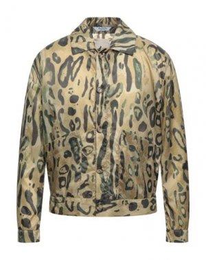 Куртка BOTTEGA MARTINESE. Цвет: зеленый-милитари