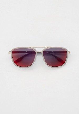 Очки солнцезащитные Prada Linea Rossa PS 50XS 04P08F. Цвет: серебряный