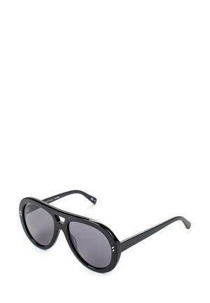 Очки солнцезащитные Stella McCartney ST977DWQYL83. Цвет: черный