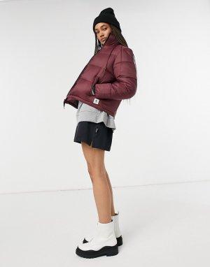 Бордовая дутая куртка Primo Arctic-Красный Element