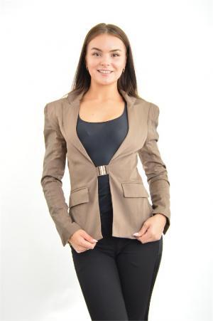 Пиджак Extasy. Цвет: коричневый