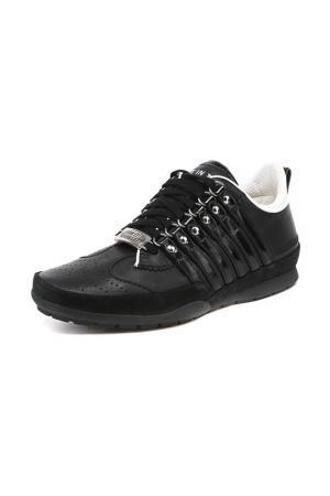 Кроссовки DSquared2. Цвет: черный
