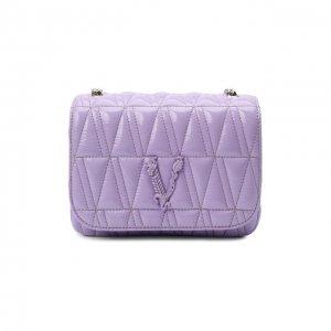 Сумка Virtus Versace. Цвет: фиолетовый