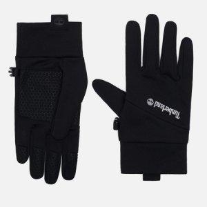 Перчатки Stretch Colorblock Softshell Fleece Timberland. Цвет: чёрный