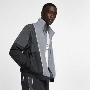 Мужской баскетбольный костюм Nike. Цвет: серый