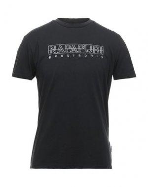 Футболка NAPAPIJRI. Цвет: черный