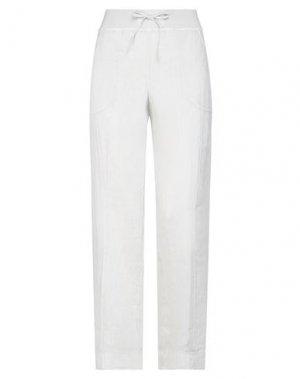 Повседневные брюки LIM. Цвет: светло-серый