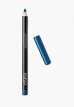 Карандаш для глаз Kiko Milano каял внутреннего контура век COLOUR KAJAL оттенок 13, Live Green, 1.05 г. Цвет: бирюзовый