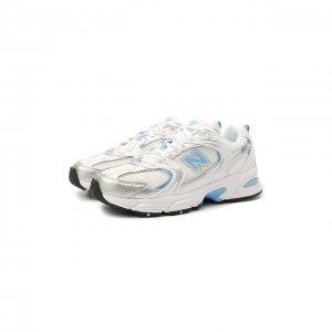 Текстильные кроссовки 530 New Balance. Цвет: синий