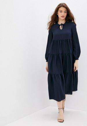Платье Imago. Цвет: синий