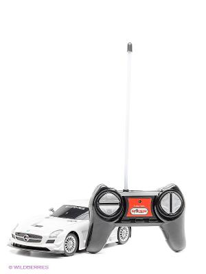 Машина Mercedes-Benz SLS AMG GT3 KAISER. Цвет: белый, черный