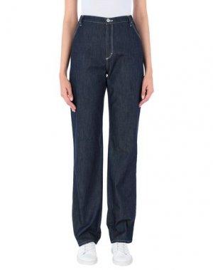 Джинсовые брюки MAURICE ABOT. Цвет: синий