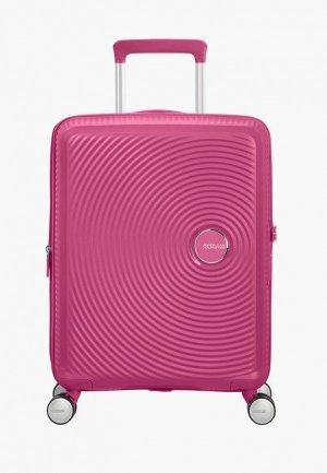 Чемодан American Tourister SOUNDBOX. Цвет: розовый