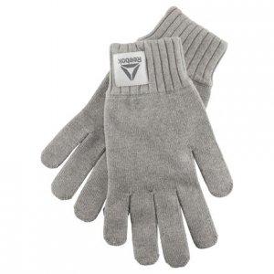 Перчатки Actron Knitted Reebok. Цвет: medium grey heather