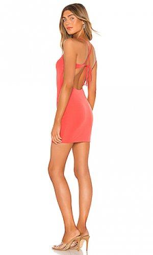 Мини платье cinder h:ours. Цвет: розовый