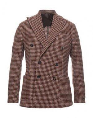 Пиджак DOPPIAA. Цвет: песочный