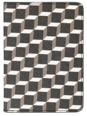 Обложка для паспорта Pierre Hardy. Цвет: серый