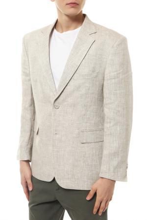 Пиджак mishelin. Цвет: светло-бежевый