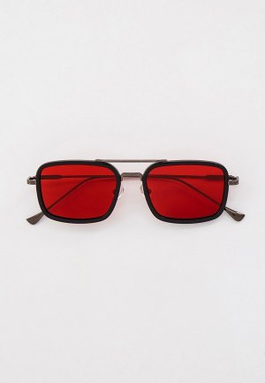 Очки солнцезащитные Havvs с поляризационными линзами, HV68030. Цвет: черный