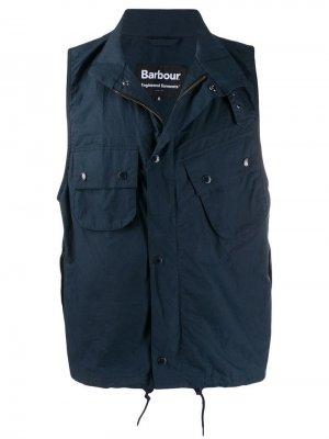 Жилет Arthur Barbour X Engineered Garments. Цвет: синий