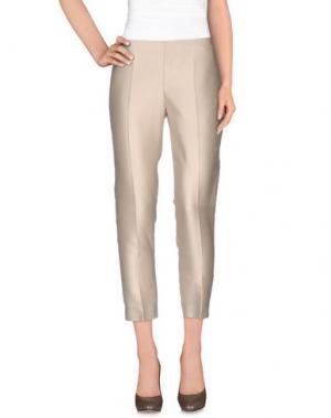 Повседневные брюки CLIPS. Цвет: бежевый