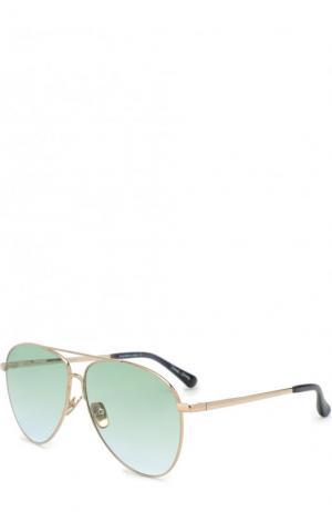 Солнцезащитные очки x Daniel Wong Frency&Mercury. Цвет: золотой