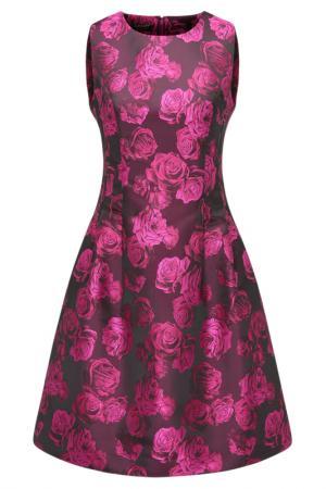 Платье Apart. Цвет: черный, розовый