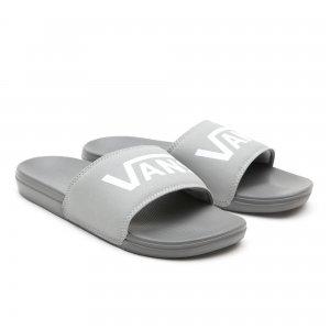 Сланцы Mens Vans La Costa Slide-On. Цвет: серый