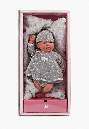 Набор игровой Arias ReBorns  Lucia реалистичные, мягкое тело, новорождённый пупс, 45 см.. Цвет: разноцветный