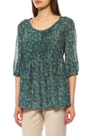Блуза Max Mara. Цвет: зеленый