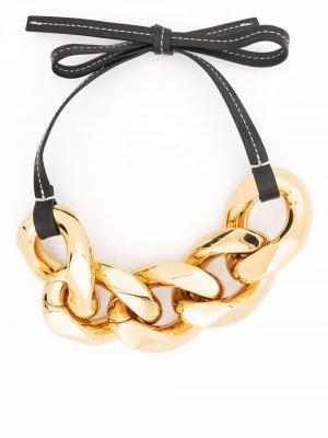 Small chain strap bracelet JW Anderson. Цвет: черный